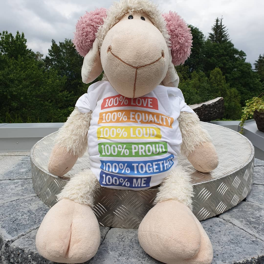 100% Love Equality Loud Proud Together 100% Me LGBT Shirts photo review
