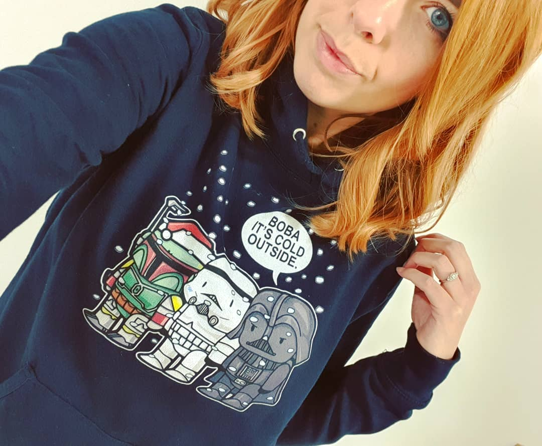Boba It's Cold Outside Stromtrooper Darth Vader Star Wars Shirts photo review