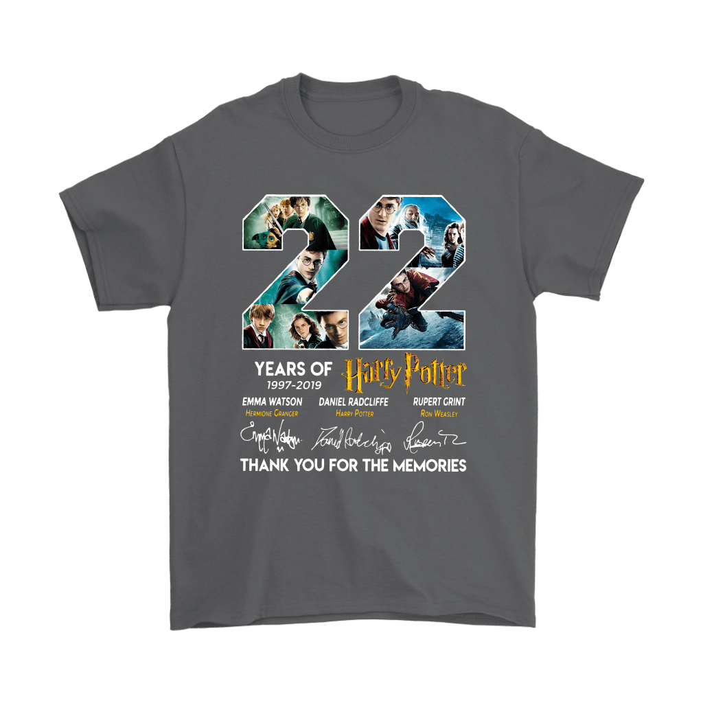 22 Years Of Harry Potter 1997 2019 Shirts 2