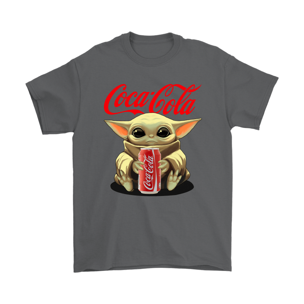 Baby Yoda Hugs Coca Cola Can Star Wars Shirts 2