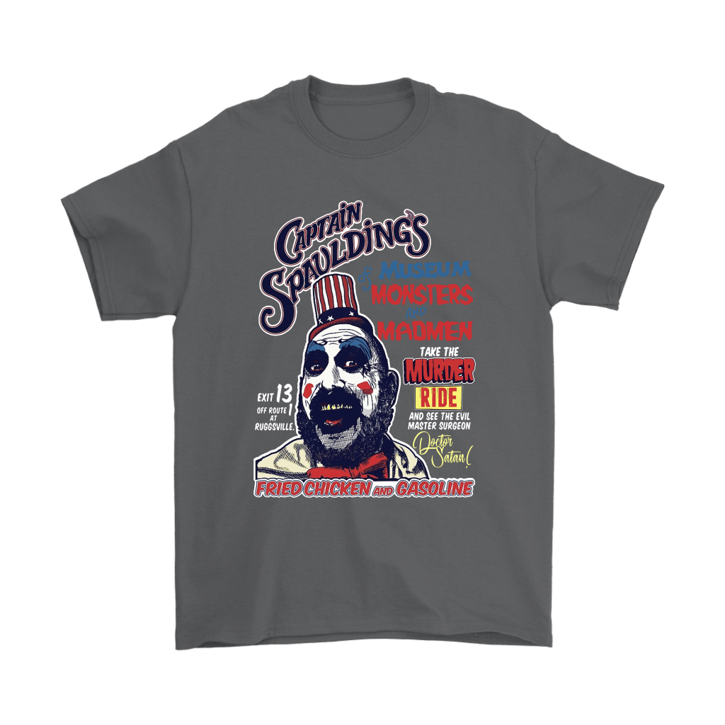 Captain Spaulding Poster Style Museum Monsters And Madman Shirts 2