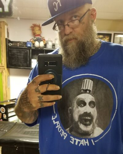 Captain Spaulding I Hate People Horror Shirts photo review
