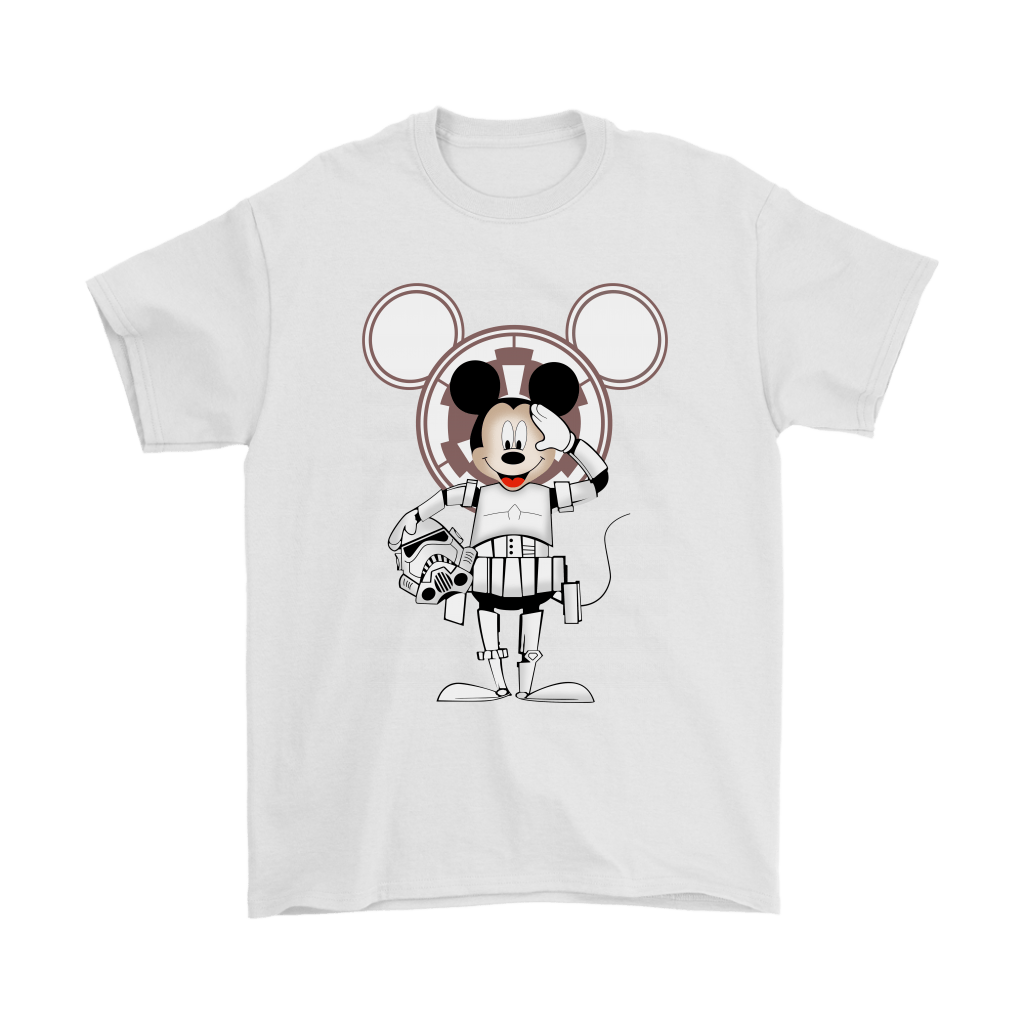 Mickey Mouse Stormtrooper Disney Star Wars Shirts 2