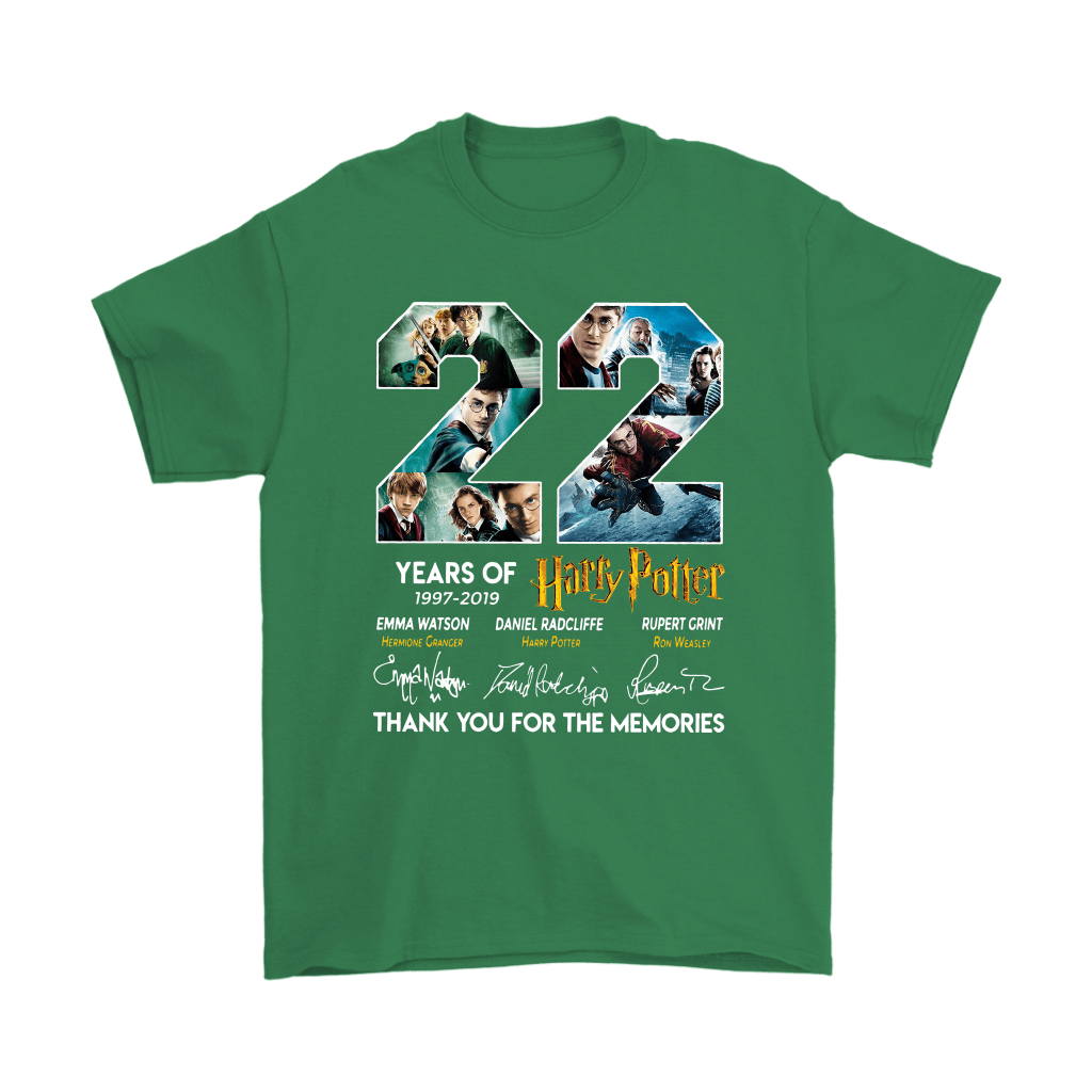 22 Years Of Harry Potter 1997 2019 Shirts 7
