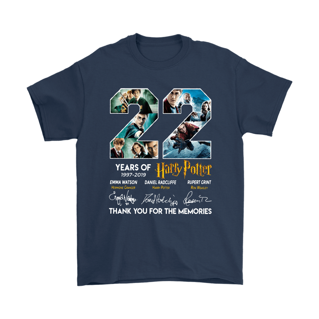 22 Years Of Harry Potter 1997 2019 Shirts 16