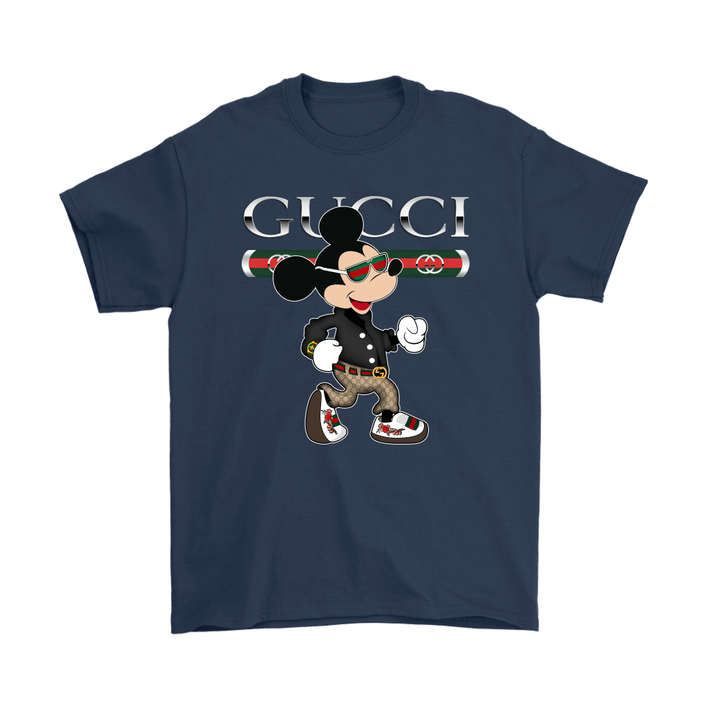 Gucci Disney Mickey Mouse Looking Good Shirts 3