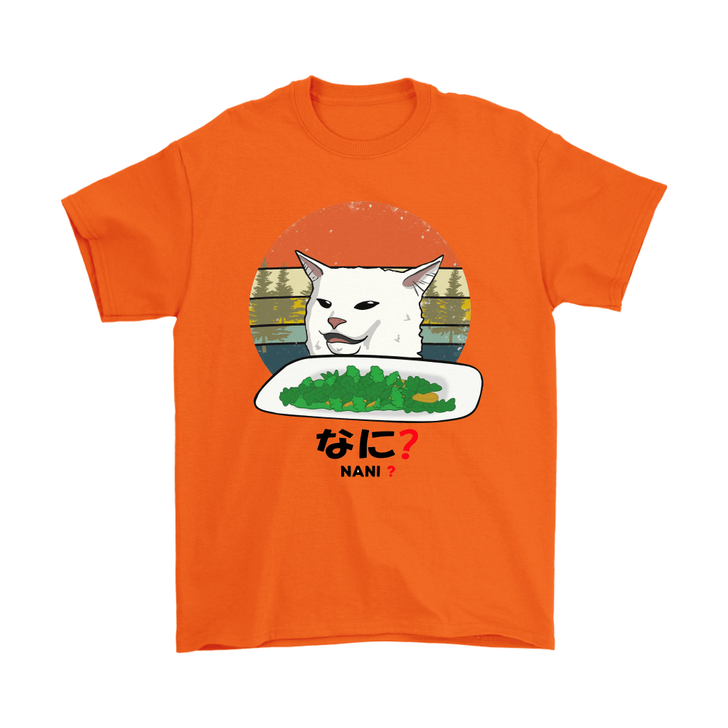 Smudge The Cat Eating Salad Meme Nani What Shirts 7