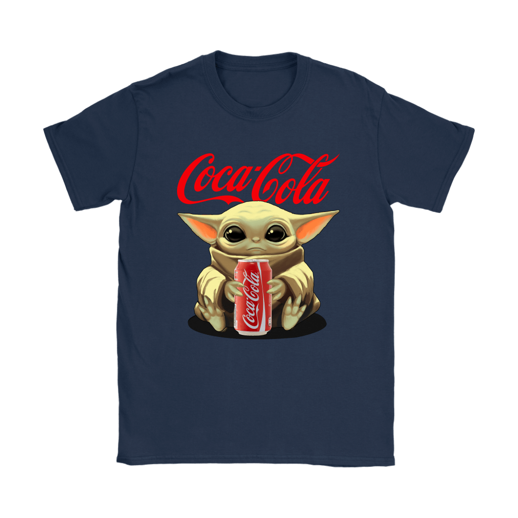 Baby Yoda Hugs Coca Cola Can Star Wars Shirts 10