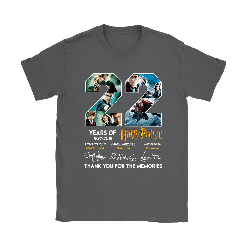 22 Years Of Harry Potter 1997 2019 Shirts 22