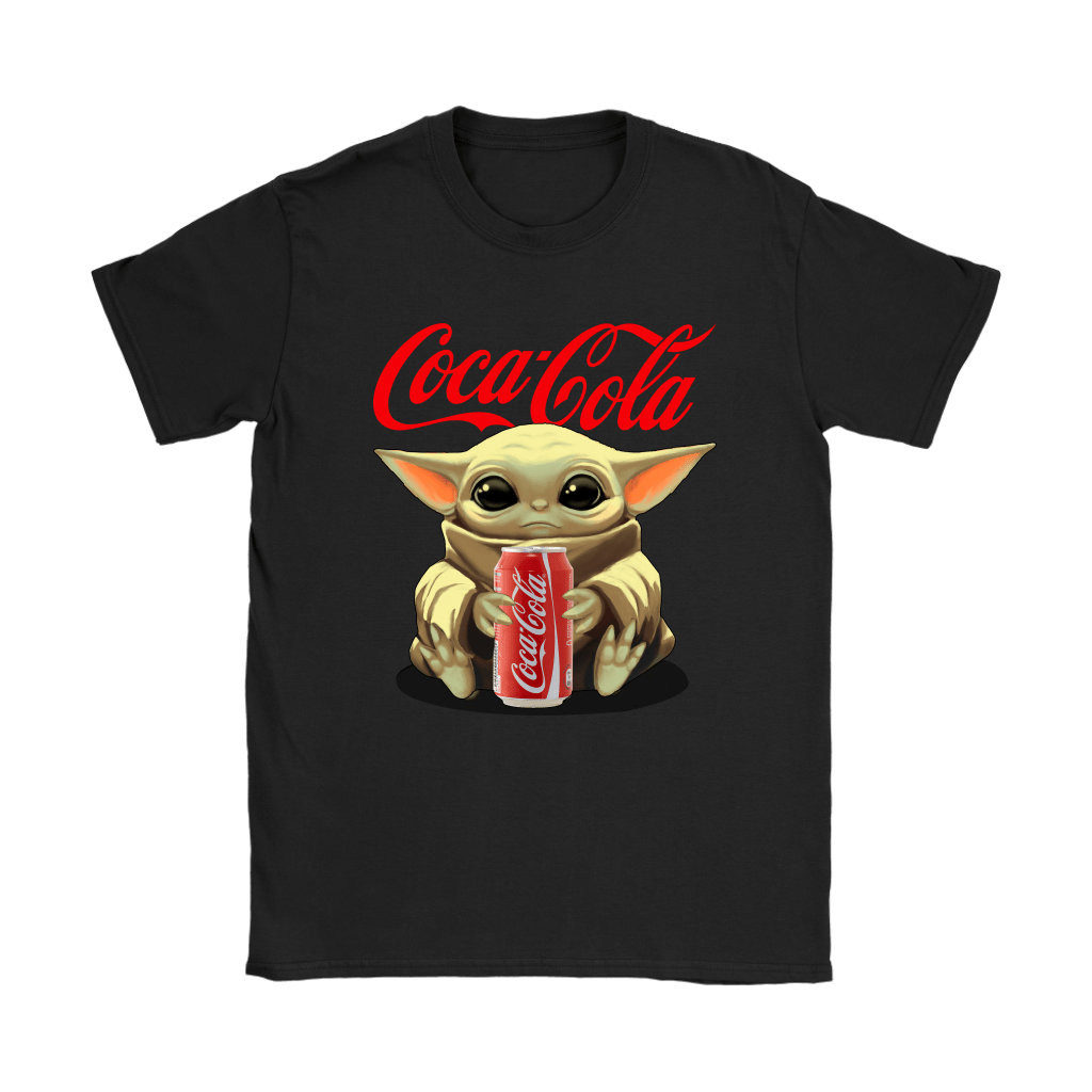 Baby Yoda Hugs Coca Cola Can Star Wars Shirts 8