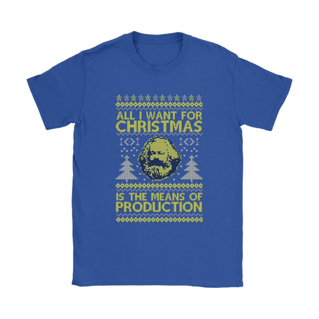 All I Want For Christmas Is The Means Of Production Marxism Shirts 13
