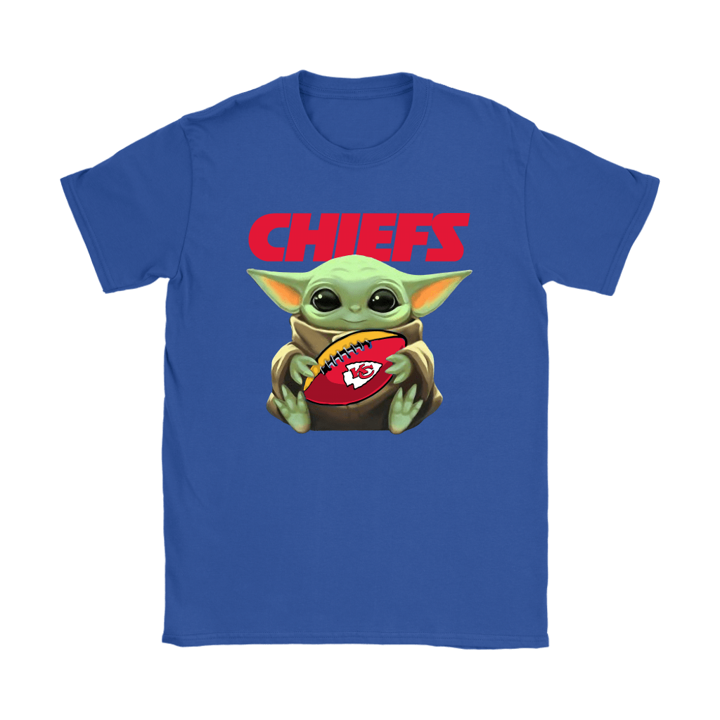 Baby Yoda Loves The Kansas City Chiefs Star Wars NFL Shirts 12