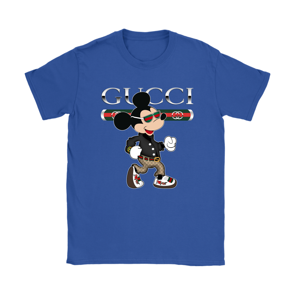Gucci Disney Mickey Mouse Looking Good Shirts 13