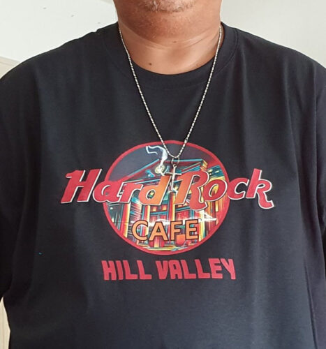 Hard Rock Cafe Hill Valley Back To The Future Retro Shirts photo review