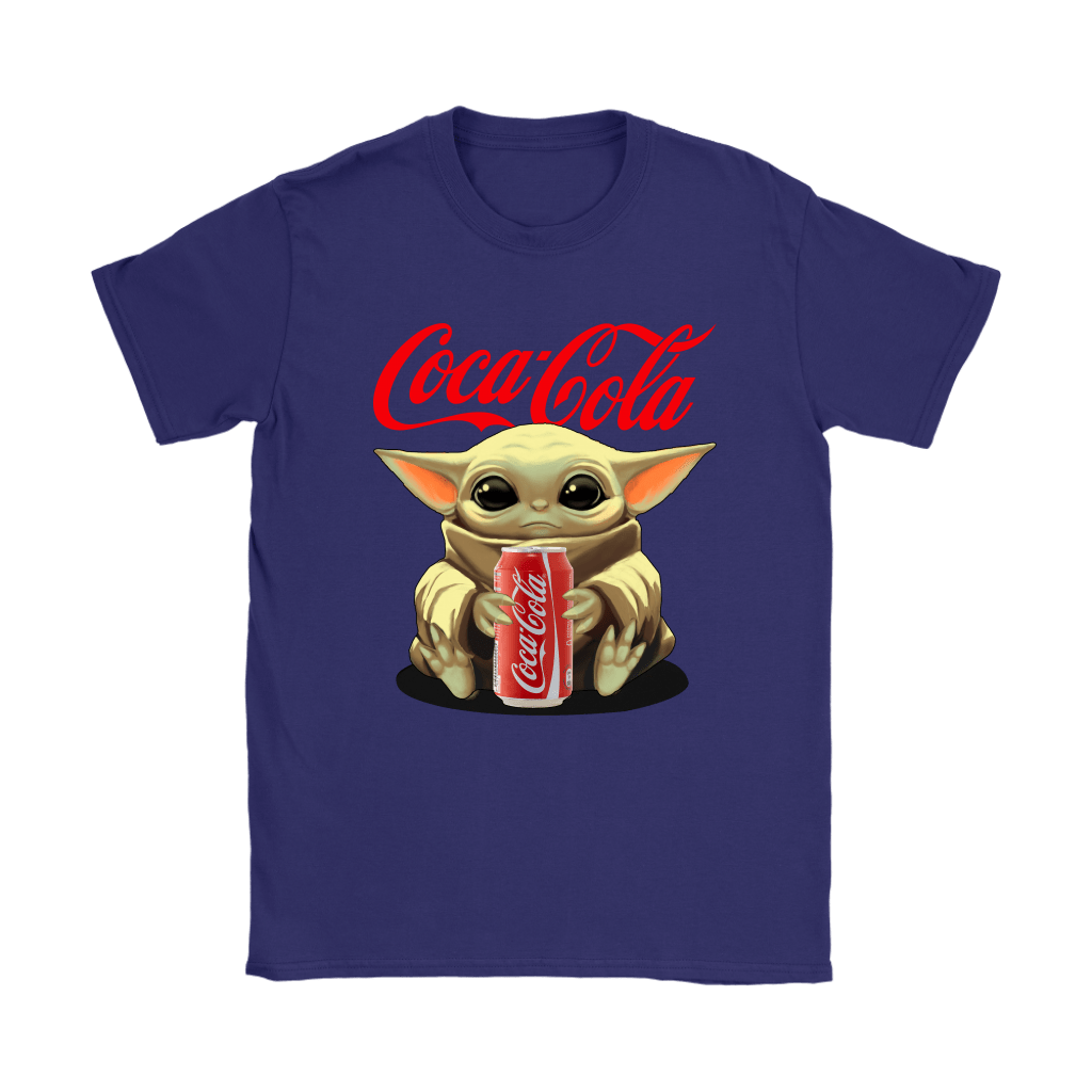 Baby Yoda Hugs Coca Cola Can Star Wars Shirts 11