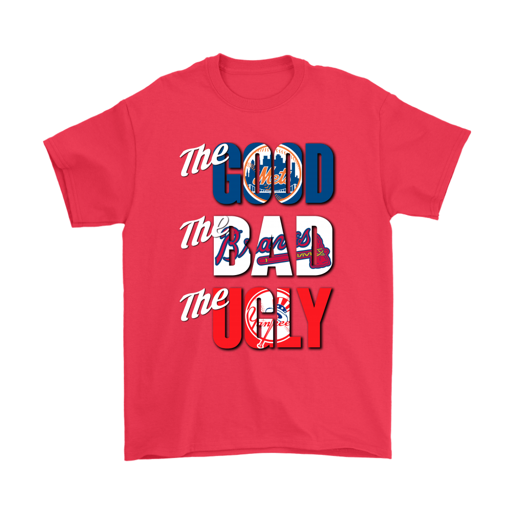 The Good The Bad The Ugly New York Mets Braves Yankees MLB Shirts 5