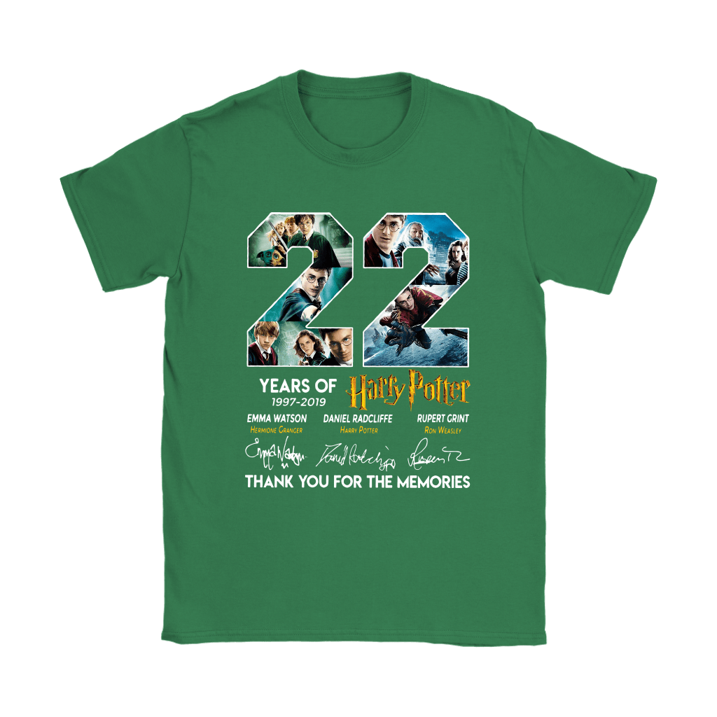22 Years Of Harry Potter 1997 2019 Shirts 14