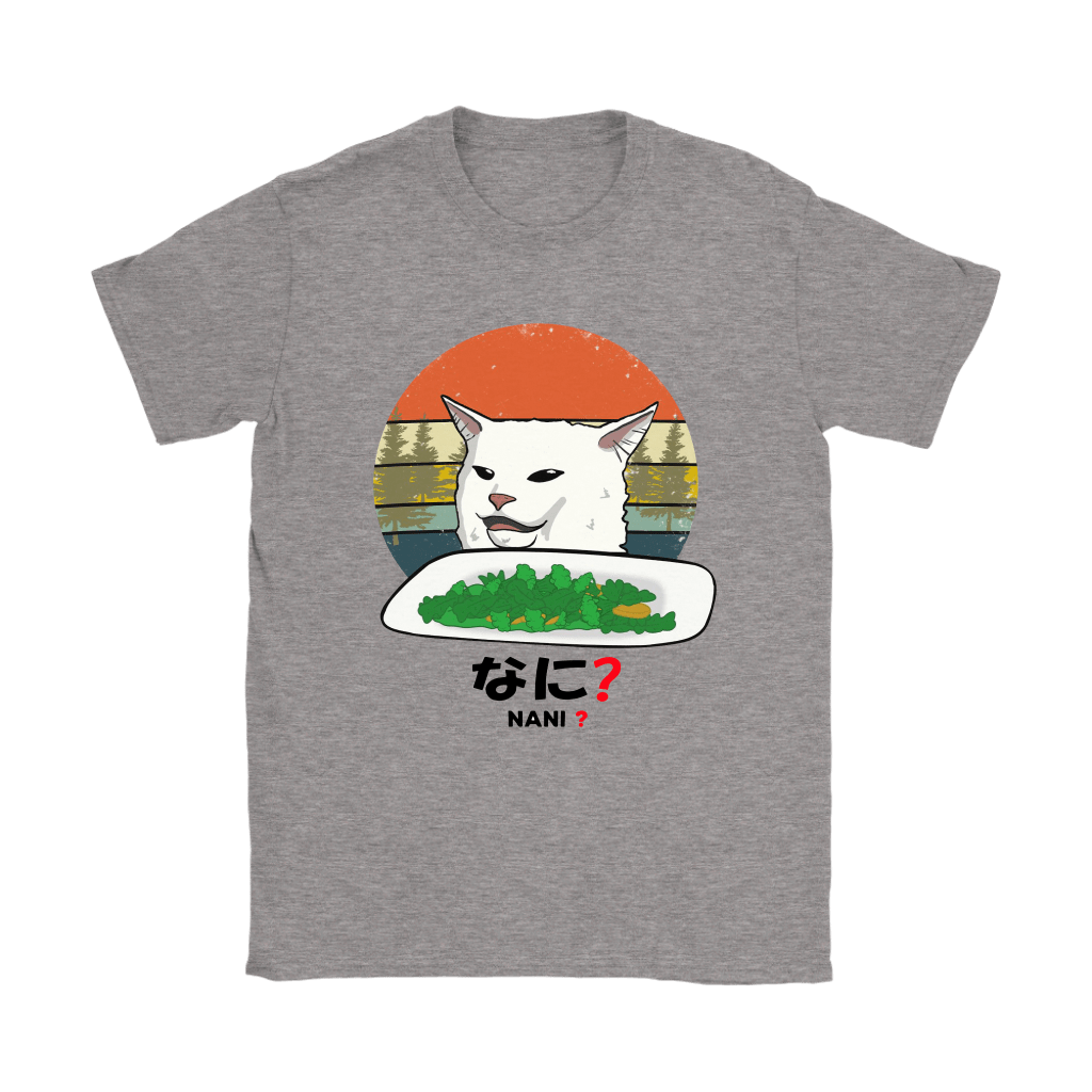 Smudge The Cat Eating Salad Meme Nani What Shirts 11