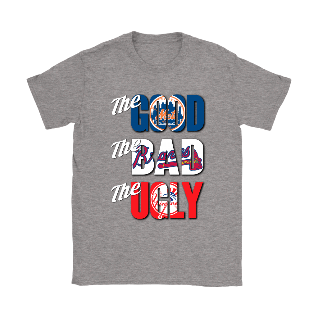 The Good The Bad The Ugly New York Mets Braves Yankees MLB Shirts 14