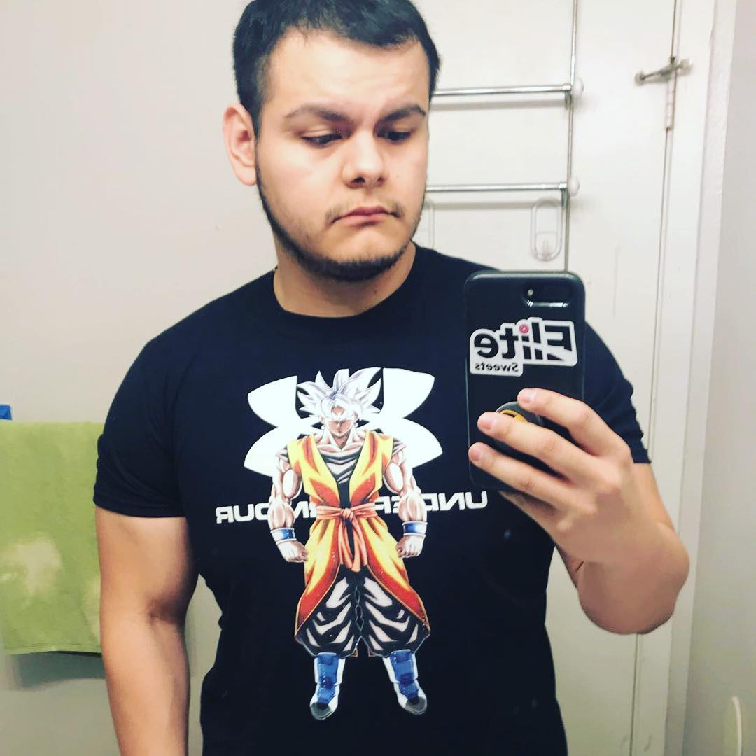Under Armour Ultra Instinct Son Goku Dragon Ball Shirts photo review