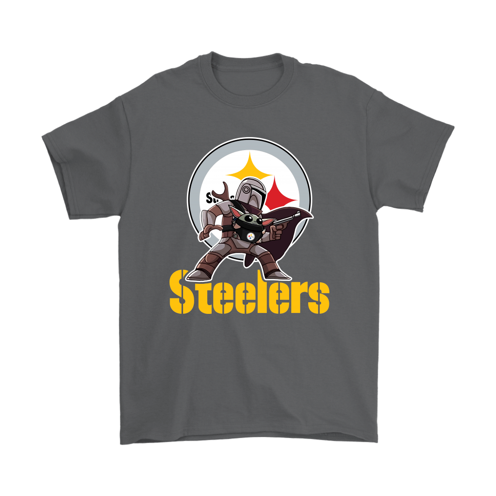 The Mandalorian & Baby Yoda Pittsburgh Steelers NFL Shirts 2