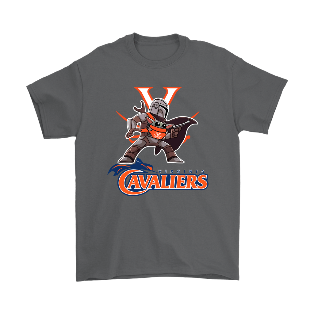 The Mandalorian & Baby Yoda Virginia Cavaliers NCAA Shirts 2