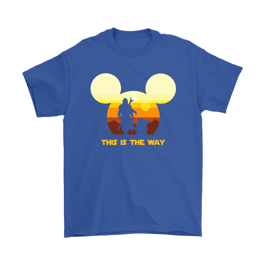 Disney Star Wars Baby Yoda The Mandalorian This Is The Way Shirts 5