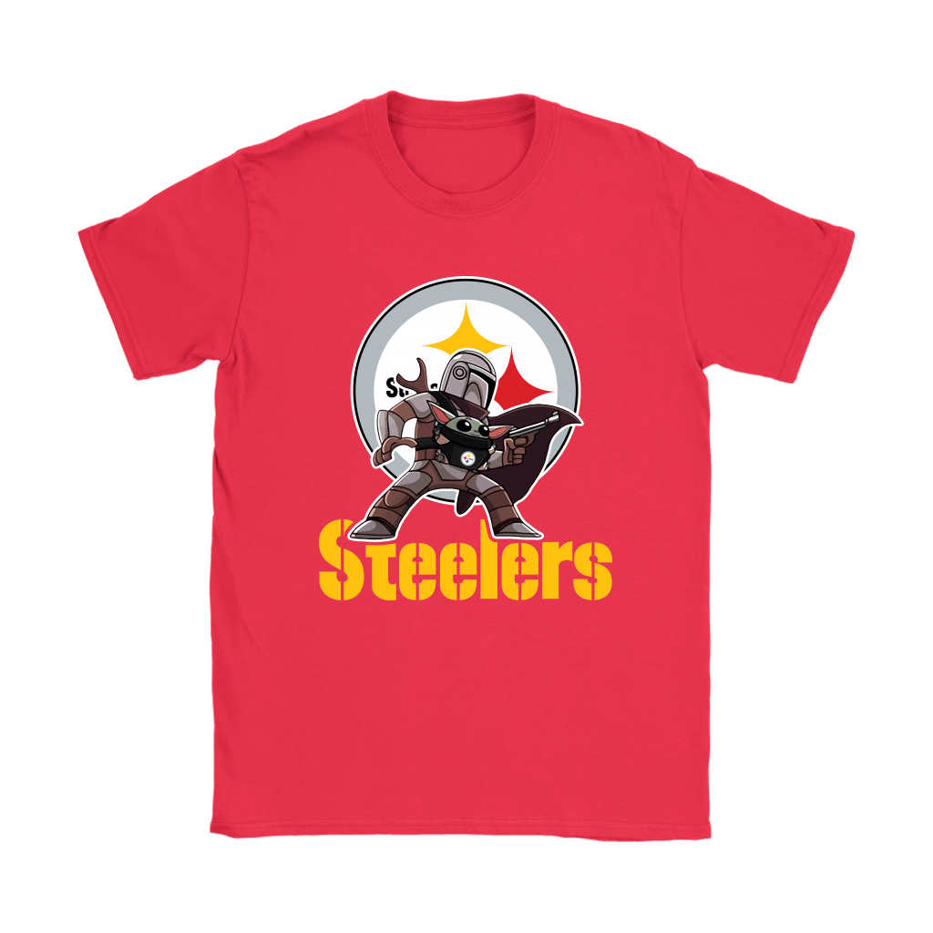 The Mandalorian & Baby Yoda Pittsburgh Steelers NFL Shirts 11