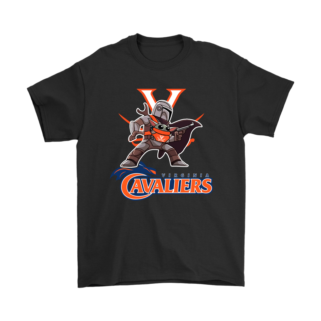 The Mandalorian & Baby Yoda Virginia Cavaliers NCAA Shirts 1