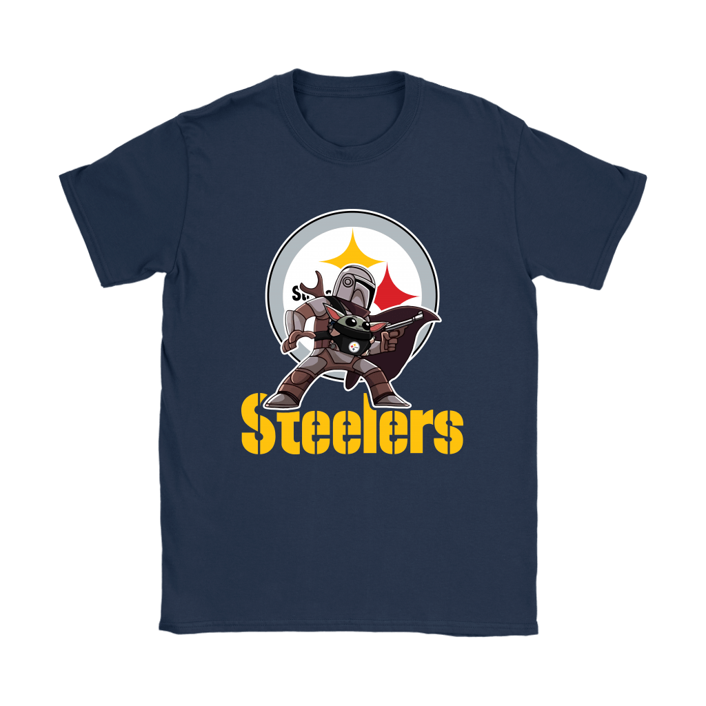 The Mandalorian & Baby Yoda Pittsburgh Steelers NFL Shirts 10