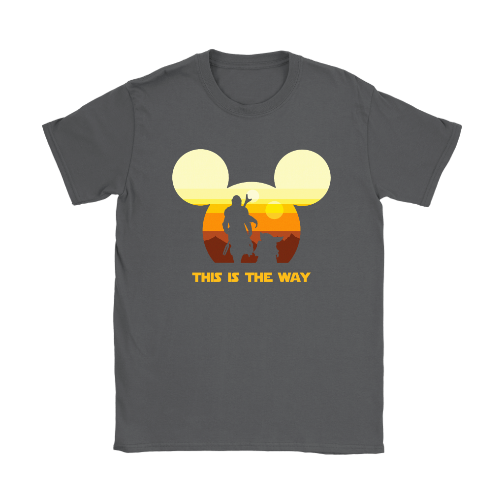 Disney Star Wars Baby Yoda The Mandalorian This Is The Way Shirts 7