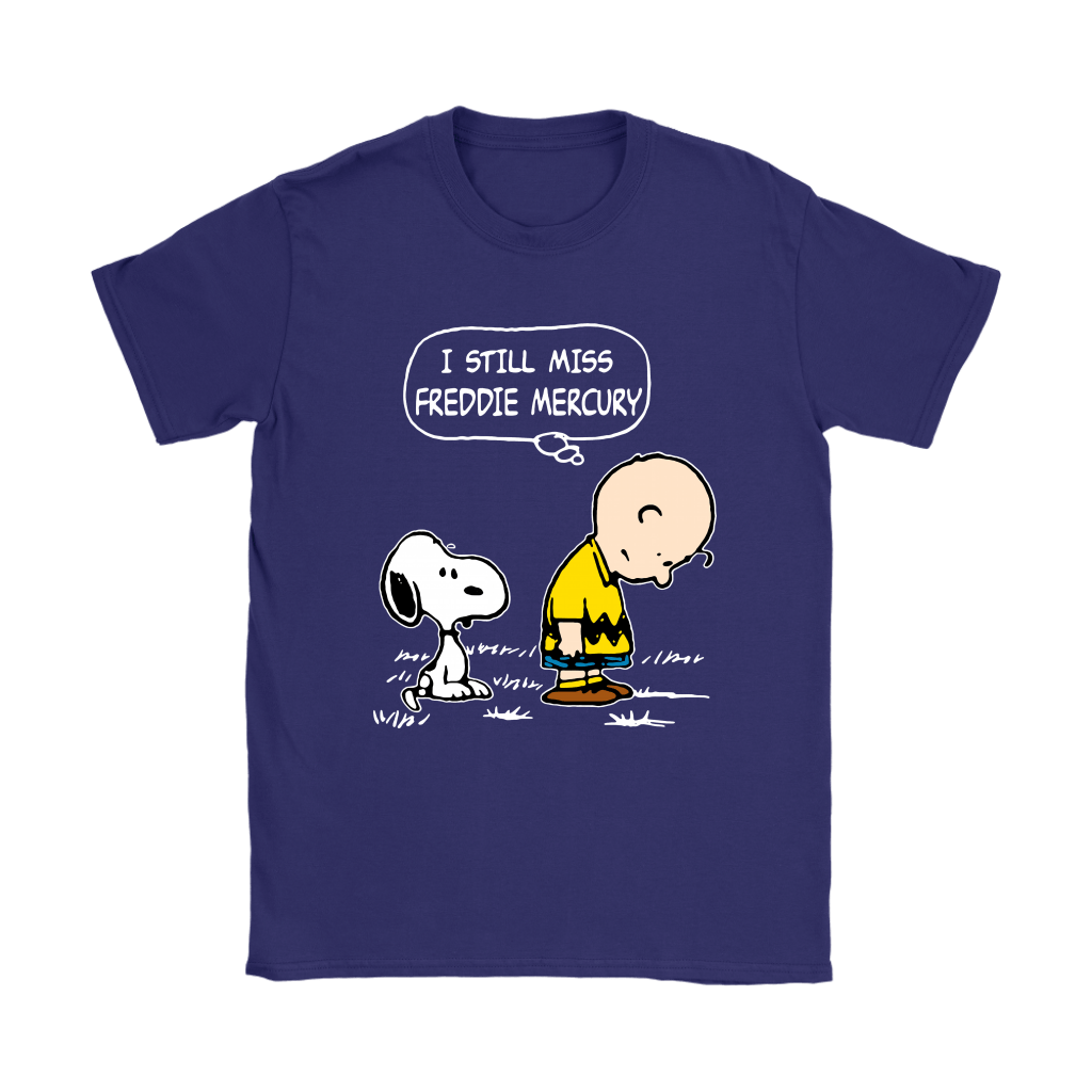 Charlie Brown And Snoopy I Still Miss Freddie Mercury Shirts 11