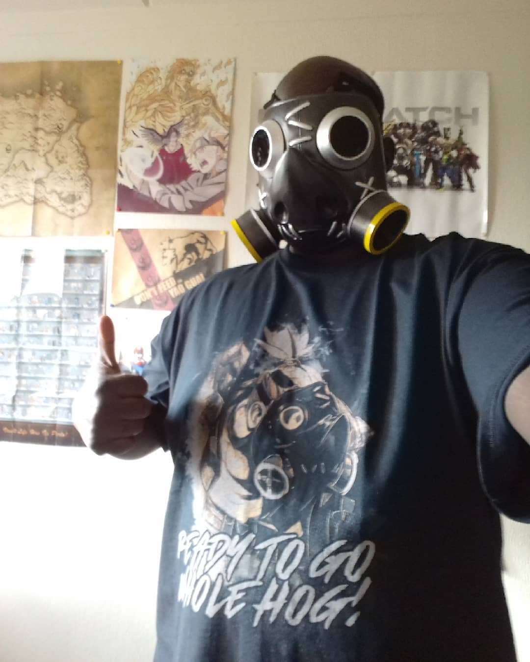 Overwatch Roadhog Ready To Go Whole Hog Shirts photo review