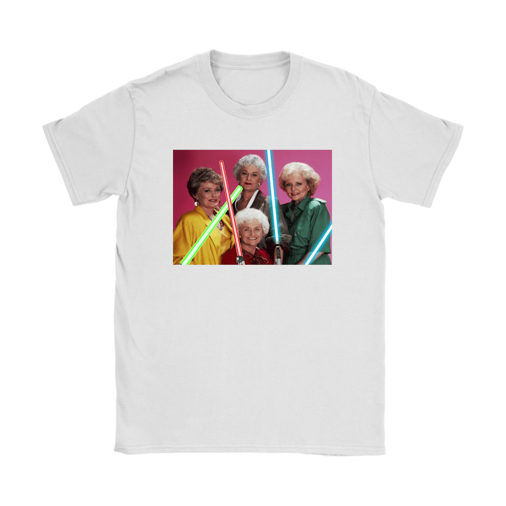 The Golden Girls Star Wars Mashup Shirts 27