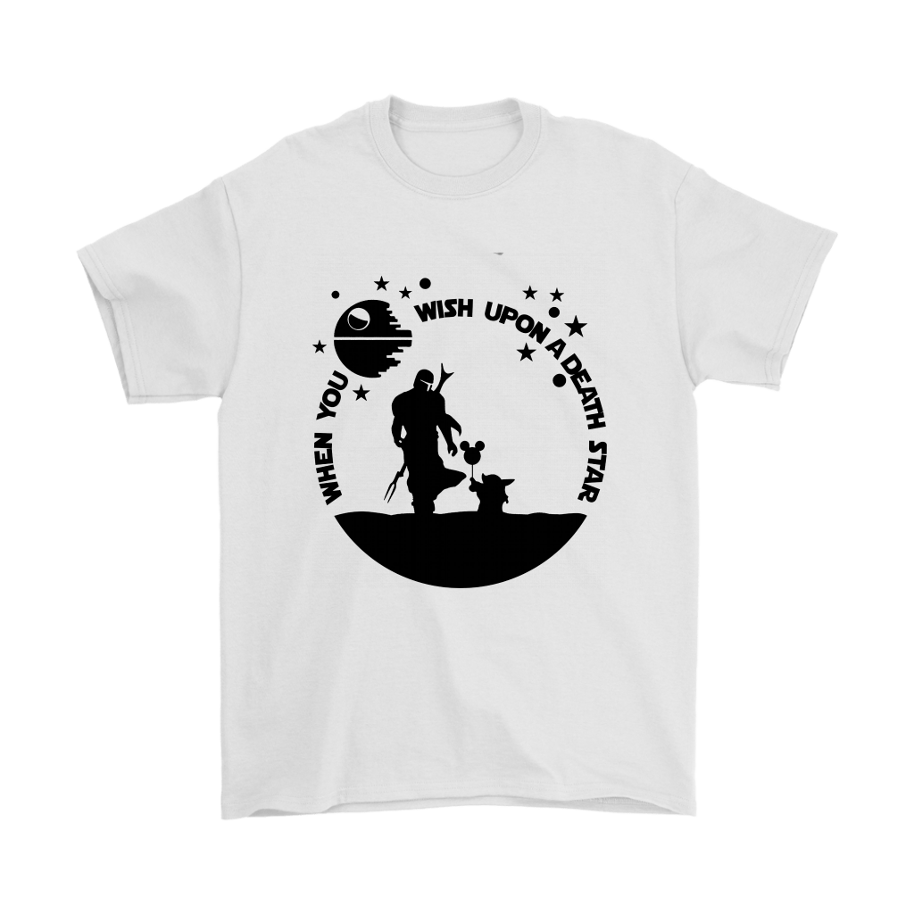When You Wish Upon A Death Star The Mandalorian Baby Yoda Shirts 1