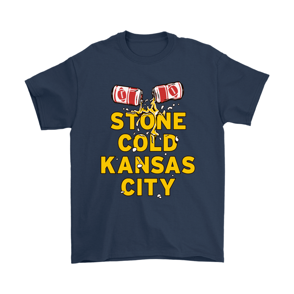 Stone Cold Kansas City Chief Football Beer Shirts 3