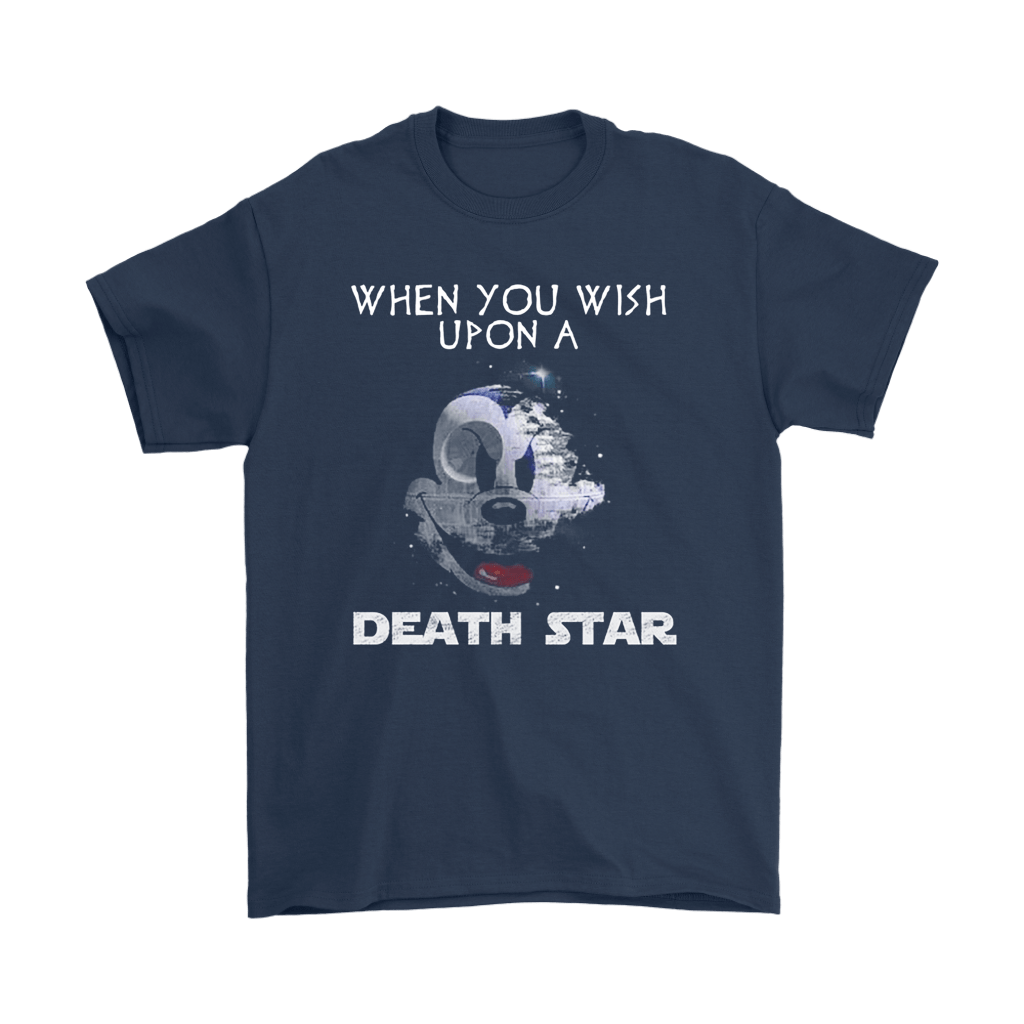 When You Wish Upon A Death Star Scary Mickey Mouse Star Wars Shirts 3