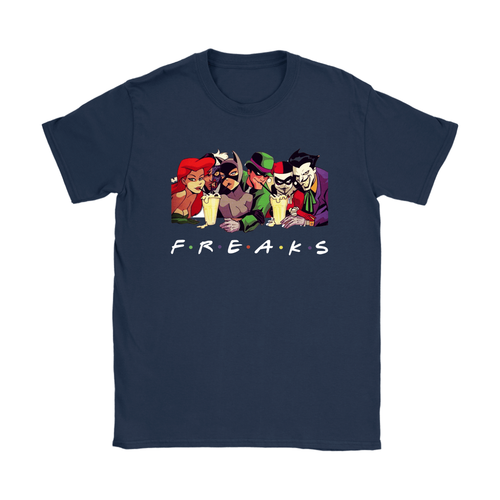 Ivy Two Face Catwoman Riddler Harley Joker DC Comics FREAKS Shirts 9