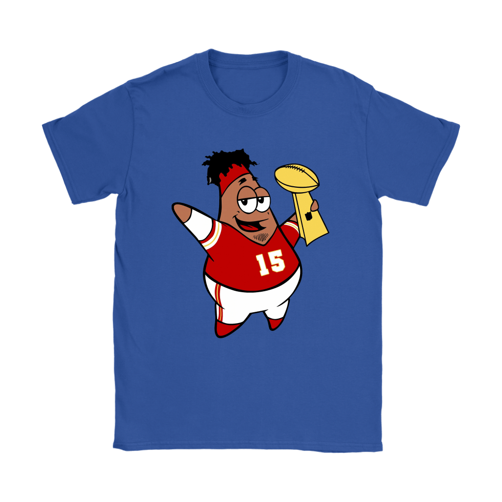 This Is Patrick Super Bowl Champions SpongeBob Mahomes Shirts 25