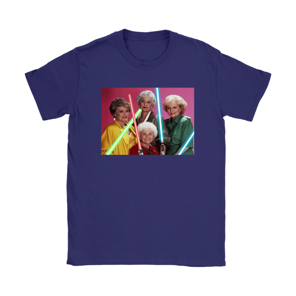 The Golden Girls Star Wars Mashup Shirts 24