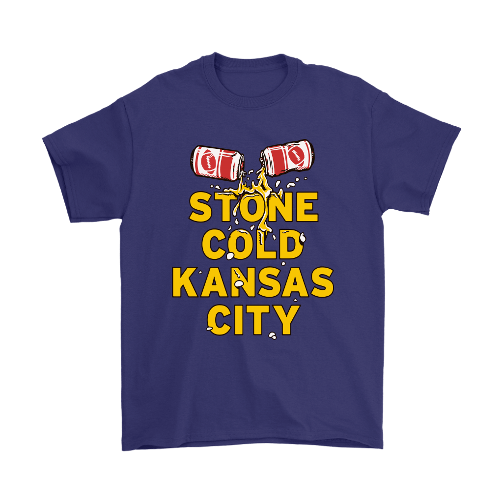 Stone Cold Kansas City Chief Football Beer Shirts 4