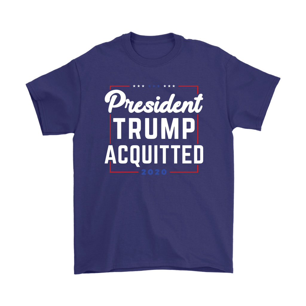 President Trump Acquitted 2020 Donald Trump For President Shirts 4
