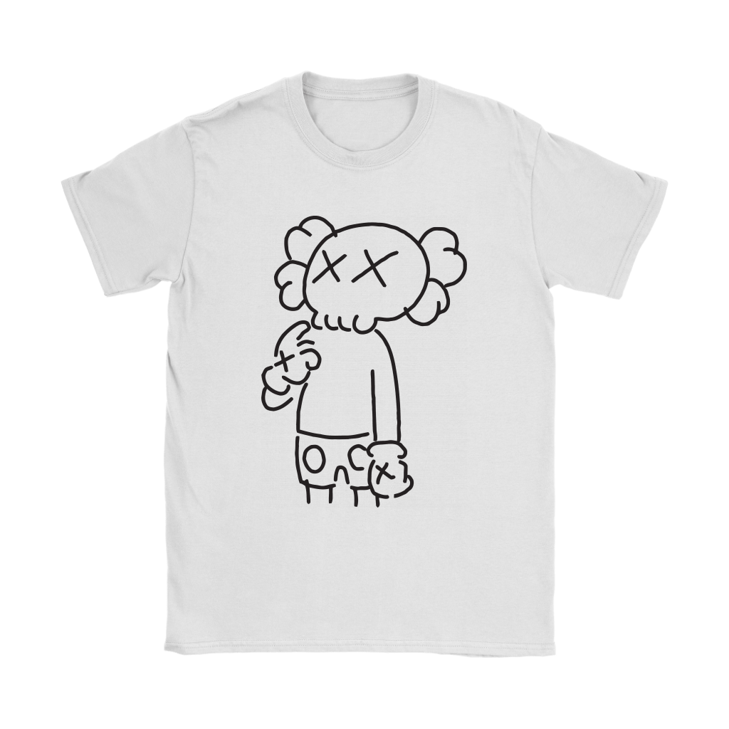 KAWS In Underware Wondering About It Shirts 4