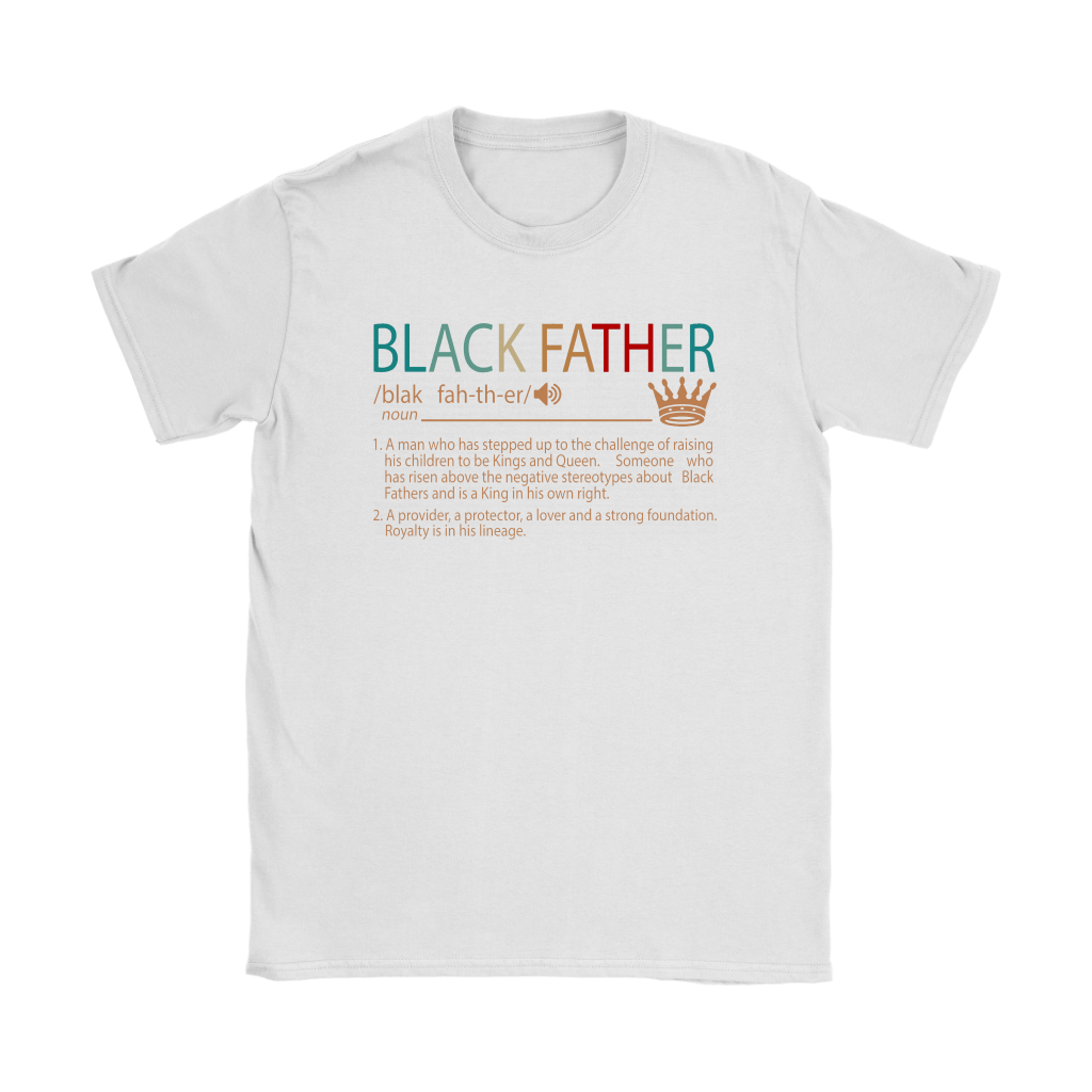 Black Father Definition Vintage Shirts 6