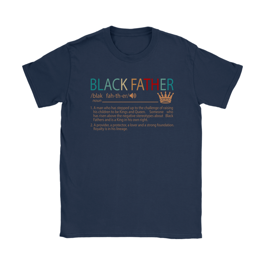 Black Father Definition Vintage Shirts 5