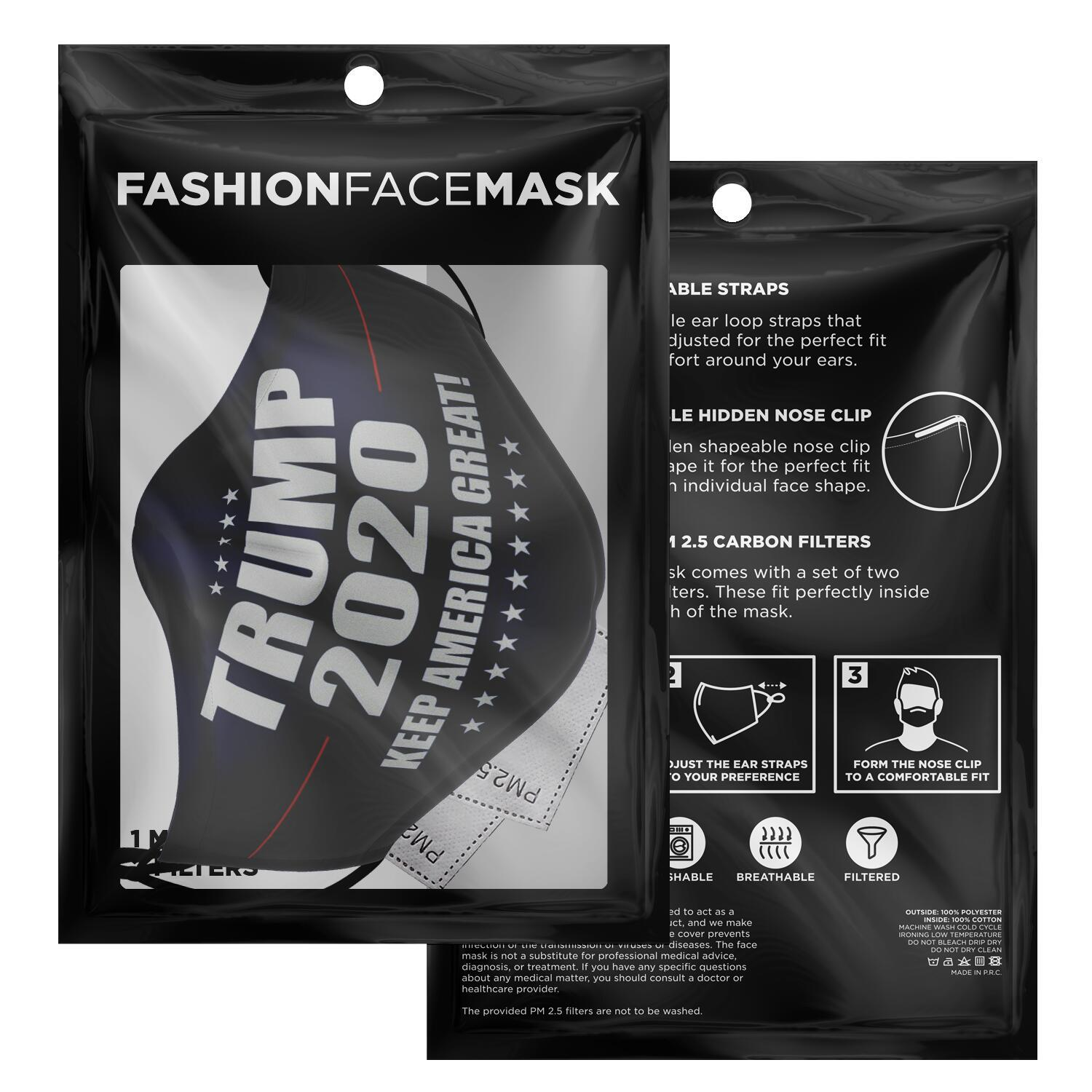 Keep America Great Trump 2020 Face Mask 2