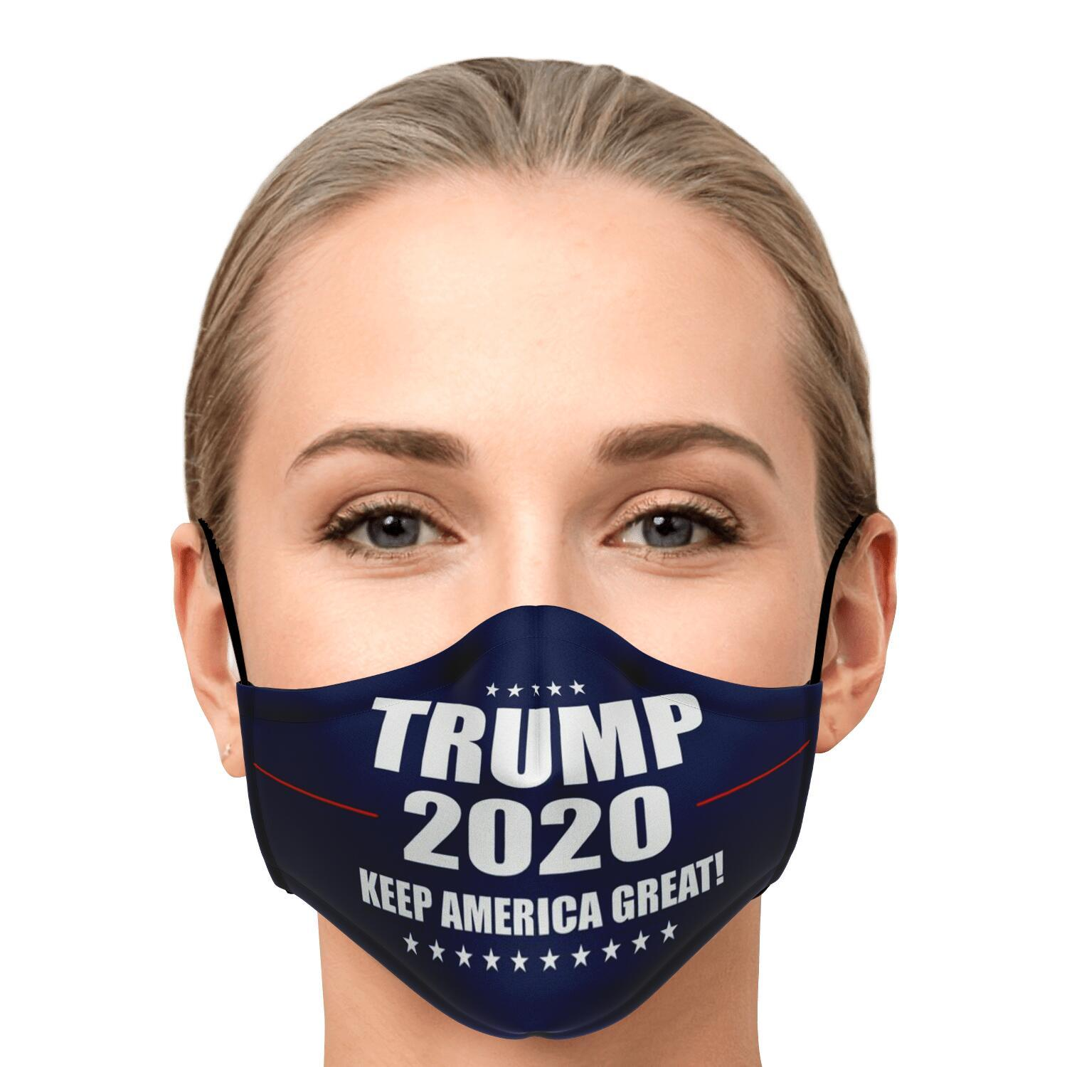 Keep America Great Trump 2020 Face Mask 1