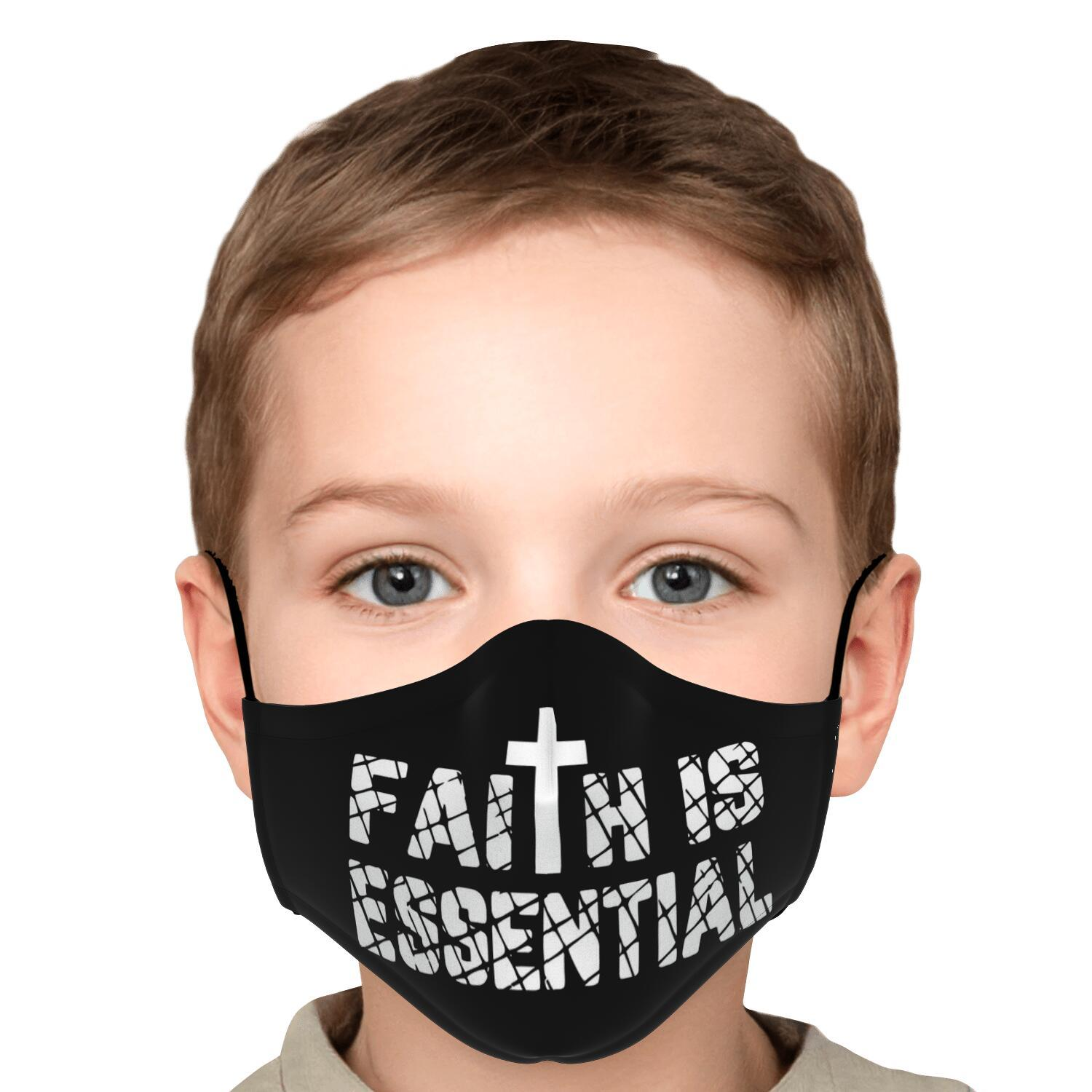 Faith Is Essential Face Mask 5
