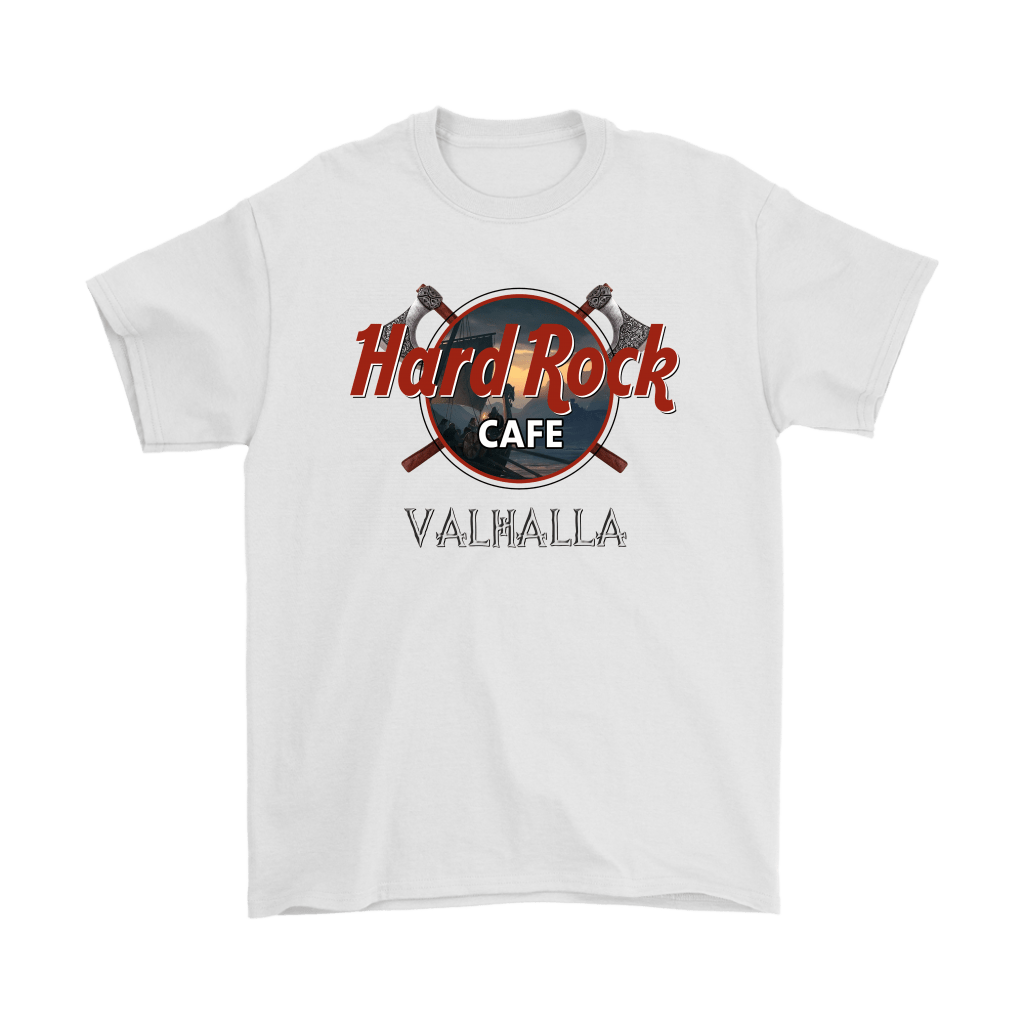 Hard Rock Cafe Valhalla Vikings Shirts 7