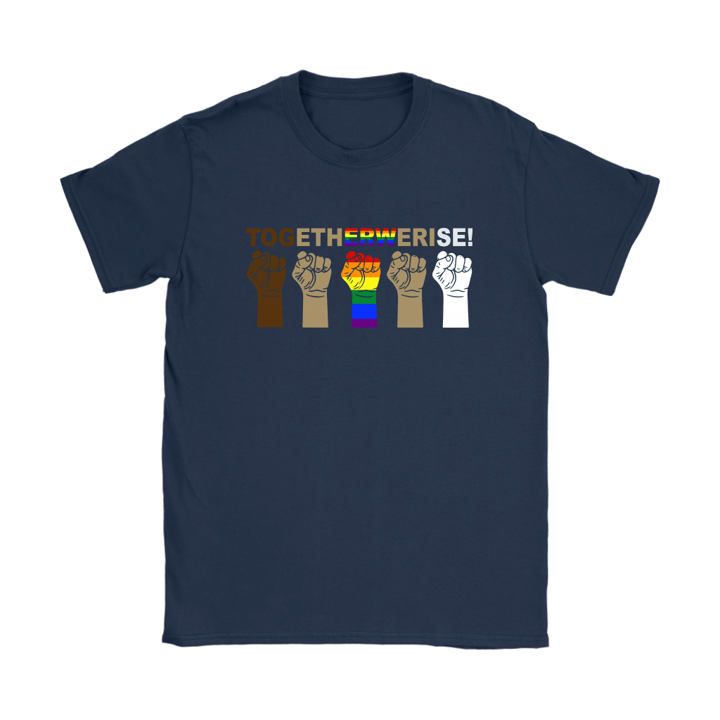 LGBT TOGETHER WE RISE Shirts 7